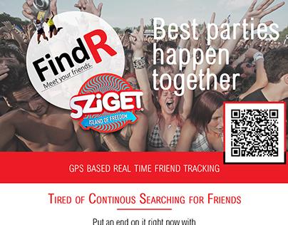 Flyer for FindRsziget