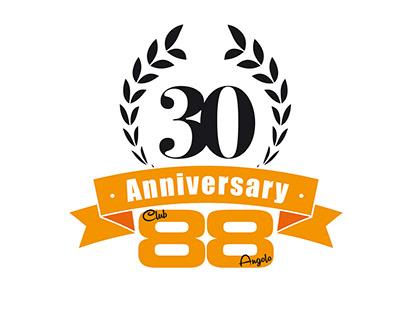 CLUB / ANGOLO 88 30° Anniversary