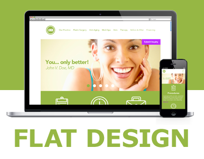 Cosmetic Surgeon - Flat Design