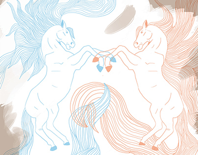 A Book of Horses Illustrated