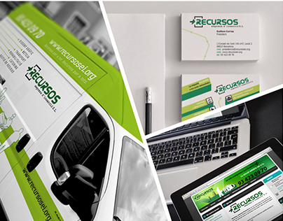 Recursos - Brand Identity System (Online & Offline)