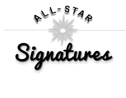All-Star Signatures