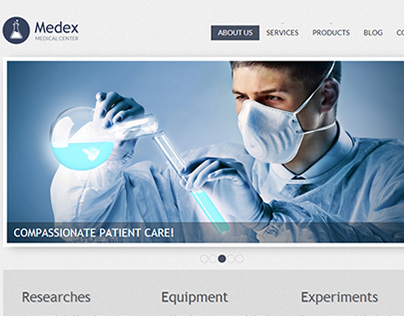 Med Clinic Joomla Template
