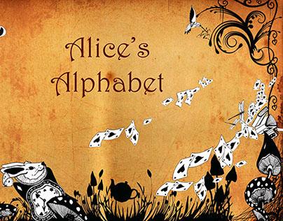 ALICE'S ALPHABET