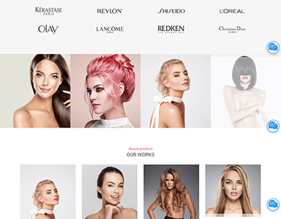 Beauty Salon Elementor WordPress Website