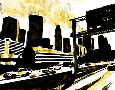Tekeningen 'Highways'