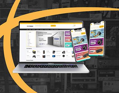 G-FORCE web design