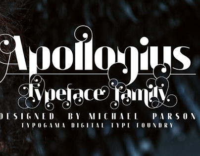 Apollonius typeface