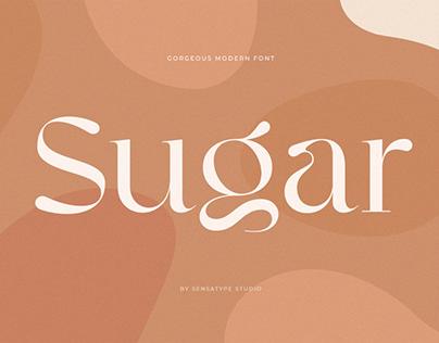Sugar - Gorgeous Modern Font