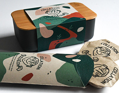 Branding & Packaging - Snack Box
