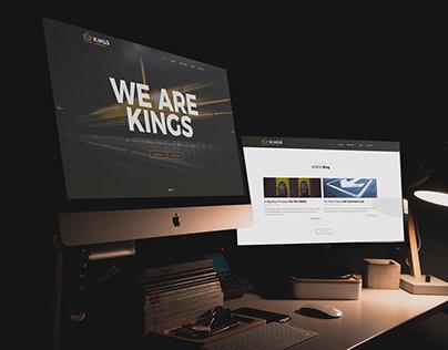 KINGS Linemarking Website Design & Development