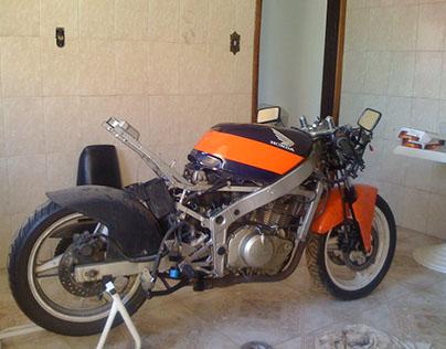 CarpeDiem Motorcycle - Build process