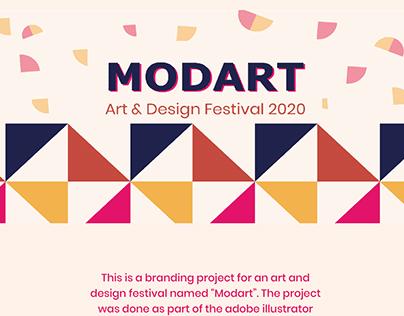 Art and design festival branding
