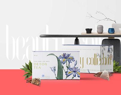 beauty collection detox tea
