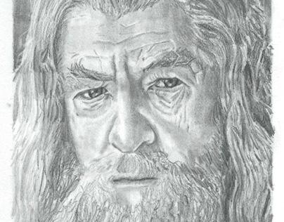 Gandalf de la saga Le Seigneur des Anneaux