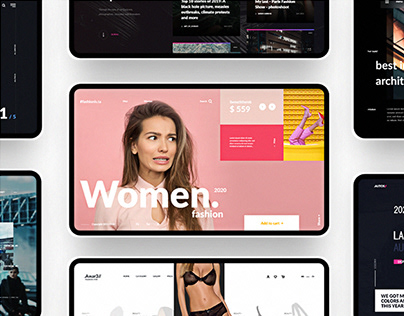 UI Webdesign Collection of Freebies