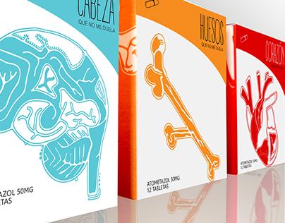 Packaging design creative on medicine