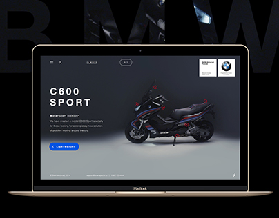BMW C600 promo site with video