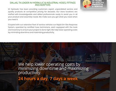 EZ Equipment Rental Website