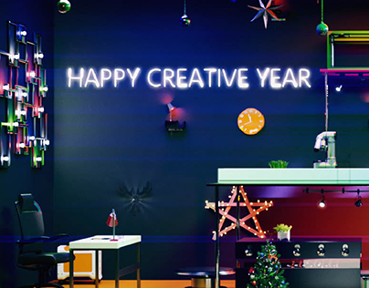 Happy New Year 2019 - Video Greeting Card 3D Animation