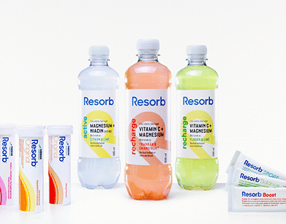 Resorb - Product Photography