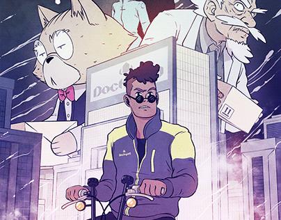 Geister - Comic-Book