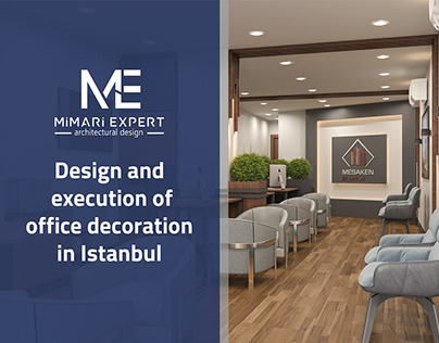 Architecture of an office in Turkey