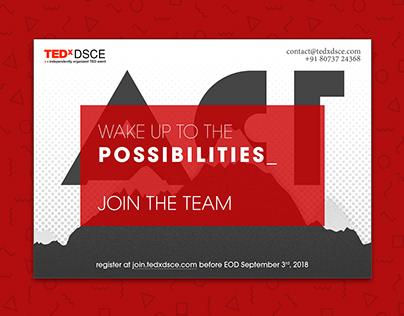 TEDxDSCE 2018