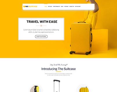 WS Suitcase – Responsive Wordpress Travel Bag template