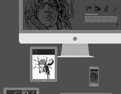 Landing Page design for artcrafter.net