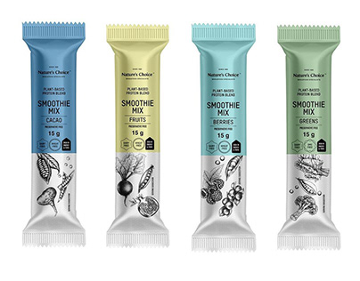 Nature's Choice Packaging Illustrations