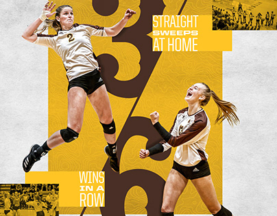2019-20 Wyoming Volleyball Print and Social Graphics