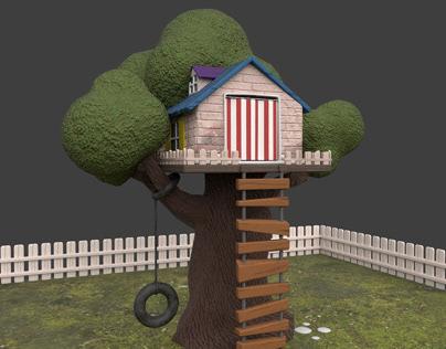Treehouse 3D Model