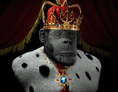Take the throne among the monkeys