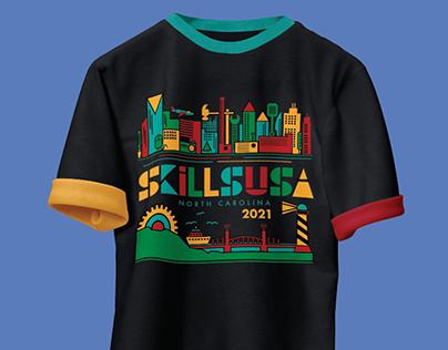 SkillsUSA T-shirt Design