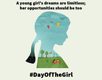 Social Media Post Day of the Girl Child 2018