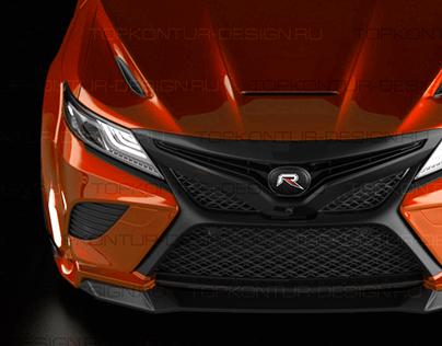 Toyota Camry 2018 by TOPKONTUR-Design