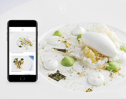 LDRS X SAXON Restaurant Website