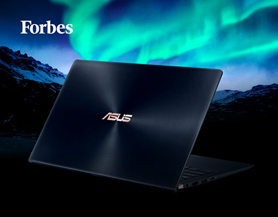 Промо Лендинг для Forbes и Asus