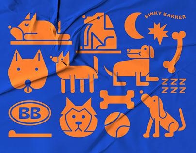 Binky Barker Thailand - Visual Identity