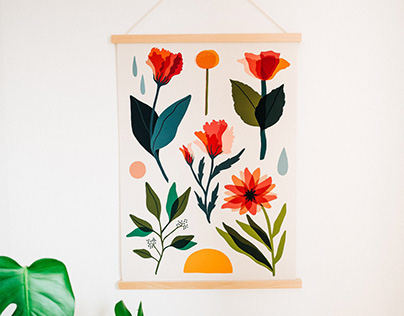 Abstract Florals - Made.com
