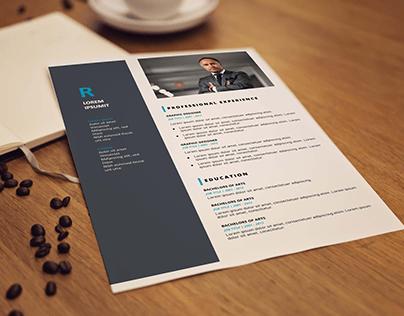 CV/Resume Template Design