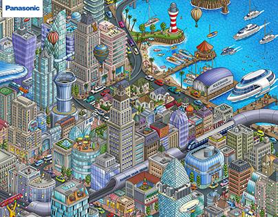 BETTERTOPIA : Panasonic 100th Global Web site