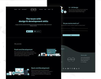 Eragna Website Design