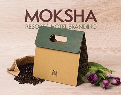 Moksha Hotel Branding
