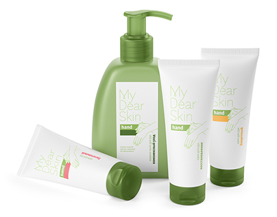 My Dear Skin. Brand Identity and Packaging