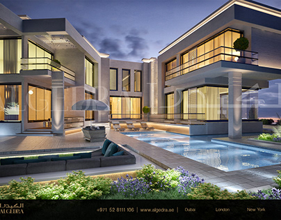 Modern and Luxurious Villa Design by ALGEDRA