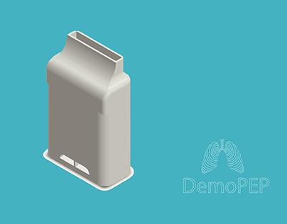 DemoPEP - Aparelho de fisioterapia respiratória