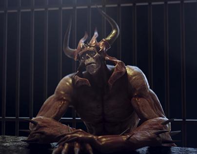 Acting Animation - Demon