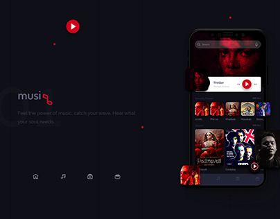 Music app | UI design